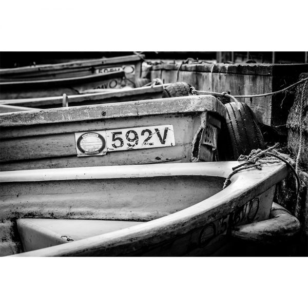Horning Rowing Boats Poster