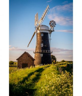 Berney Arms Windmill Greetings Card