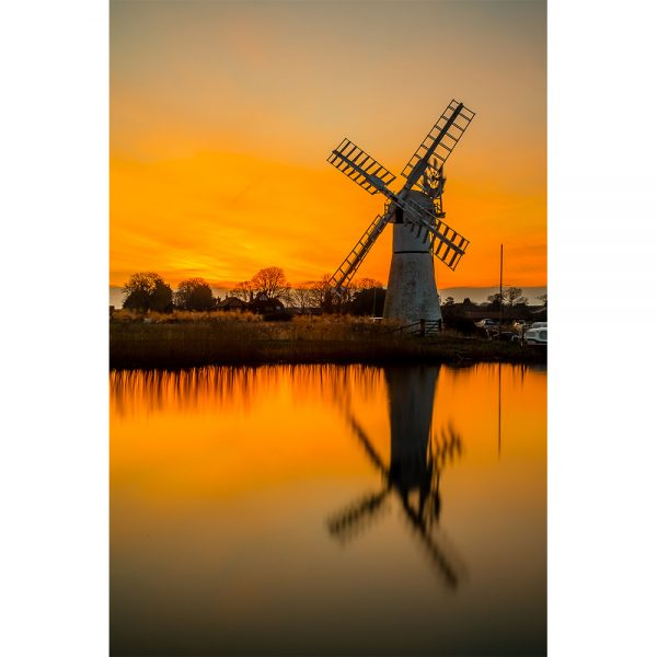 Thurne Winters Sunrise Greetings Card