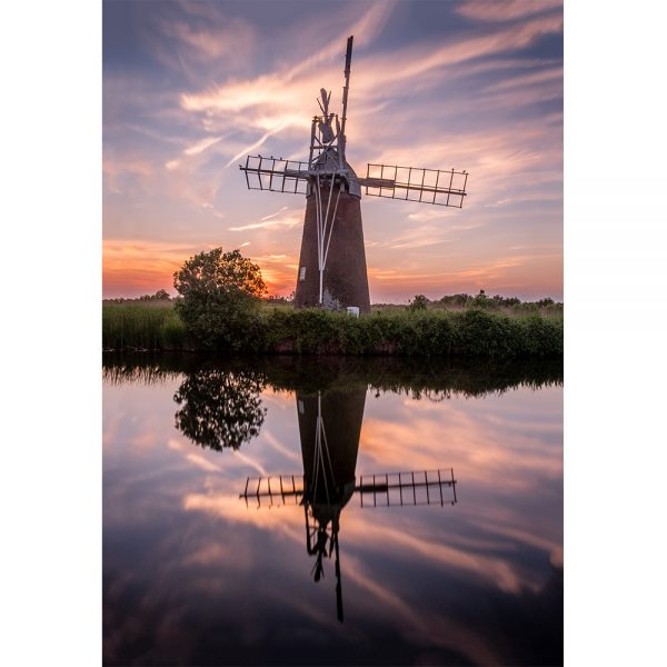 How Hill Windmill Acrylic Prism