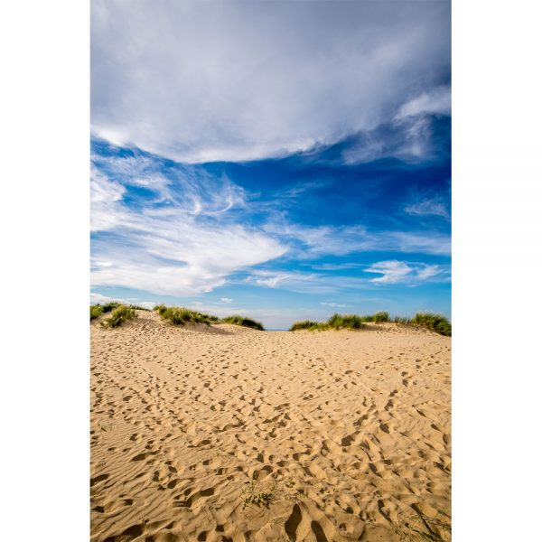 Wells Sand Dunes Portrait Greetings Card