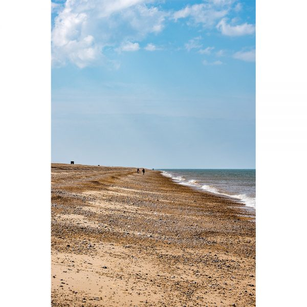 Blakeney Beach Walk 16x12 Print