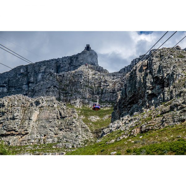 Cable Car To Table Mountian Cape Town Acrylic Prism